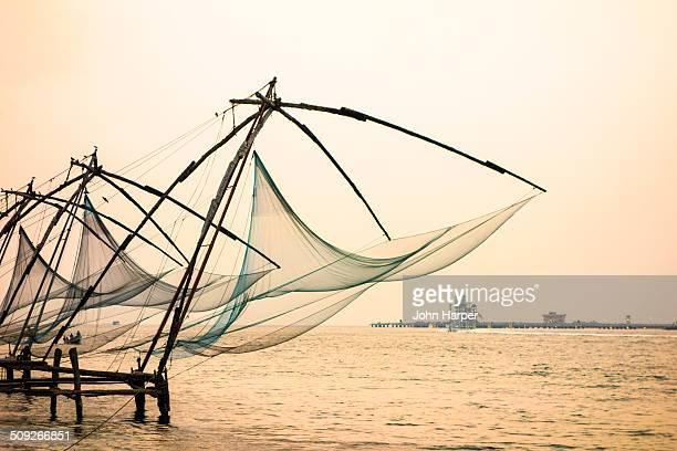 Fishing nets, Kochi, Kerala, India