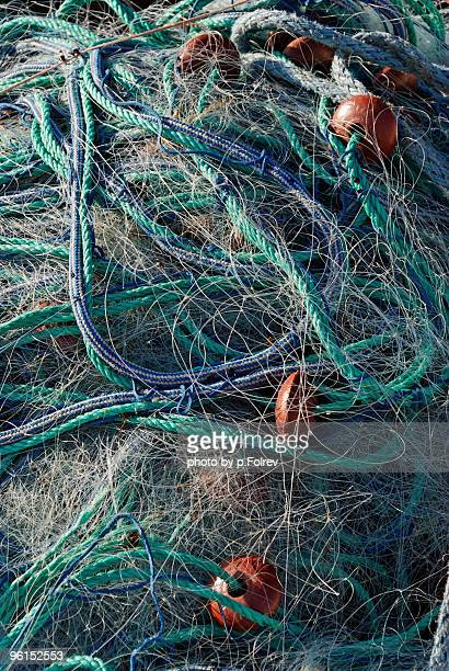 Fishing nets used om medi