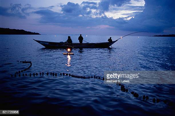 Fishing on Lake Victoria