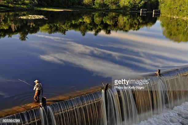 Fishing on the Farmington River
