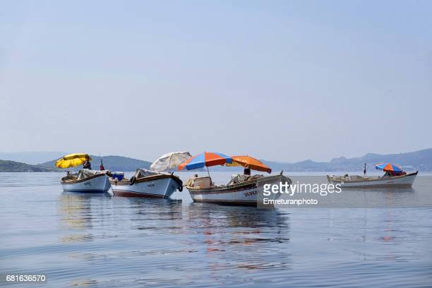 a fishing party. - emreturanphoto stock pictures, royalty-free photos & images
