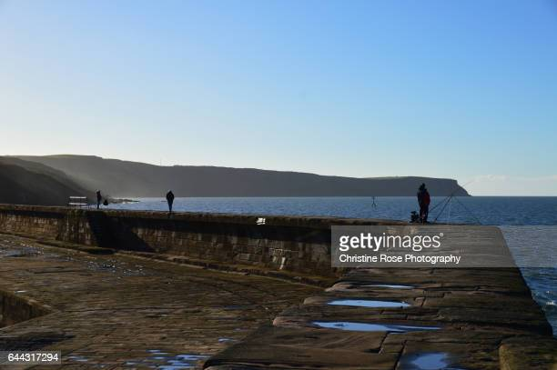 fishing - whitehaven cumbria stock pictures, royalty-free photos & images