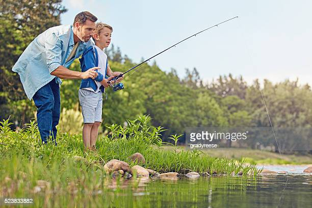 Fishing runs in the family