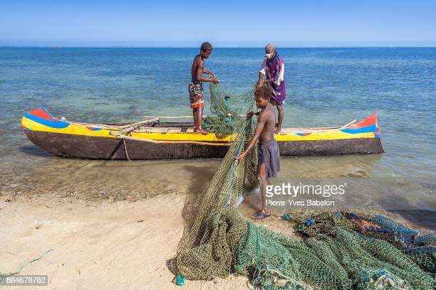 Fishing scene in Madagascar