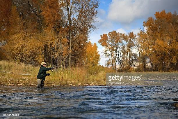 pesca sul fiume provo - provo foto e immagini stock