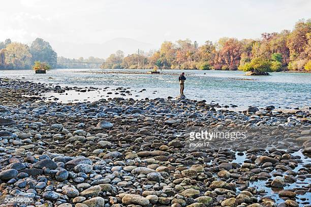 Fishing the Sacramento River at Turtle Bay in Redding