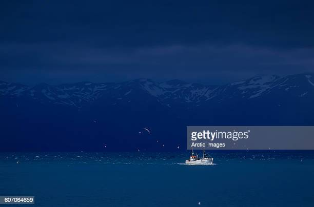 Fishing Trawler, Northern, Iceland
