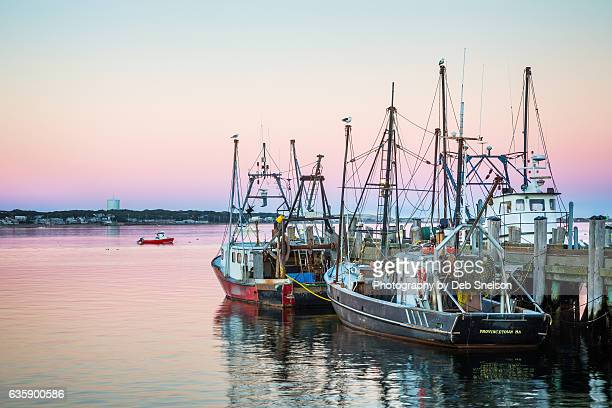 Fishing Vessels Docked at MacMillan Wharf Provincetown