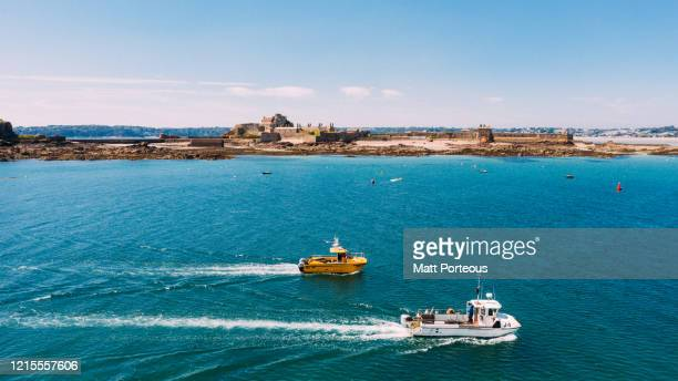 fishing vessels - sea life stock pictures, royalty-free photos & images