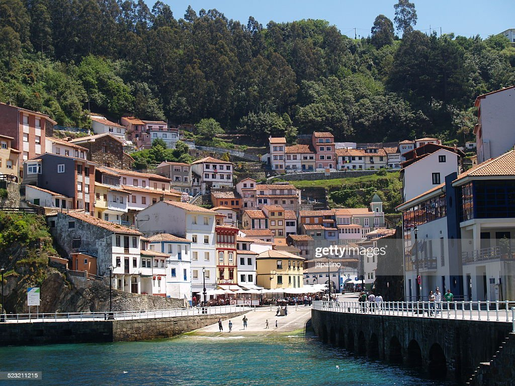 Fishing Village De Cudillero High Res Stock Photo Getty Images