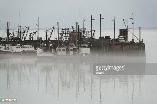 Fishing Village Fog
