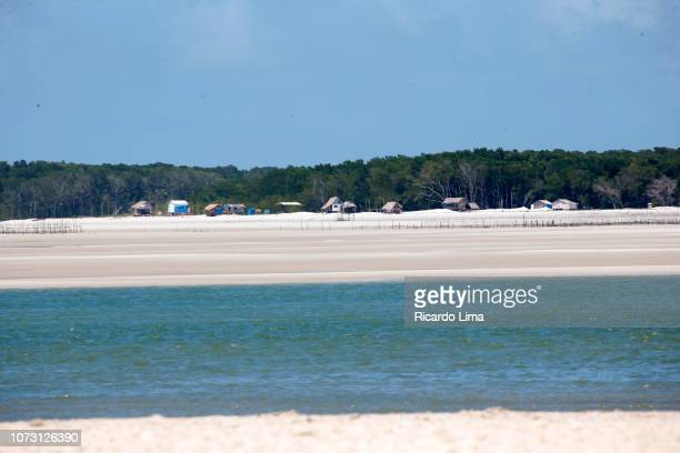 fishing village, northeastern para state, brazil - state stock pictures, royalty-free photos & images