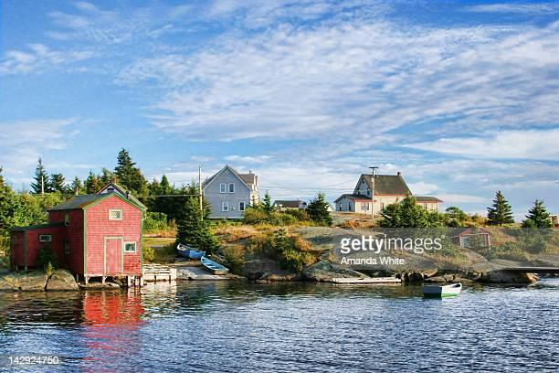 Fishing village of Blue Rocks, Nova Scotia