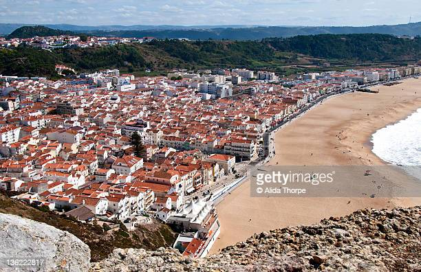 Fishing village of Nazare,Lisbon, Portugal