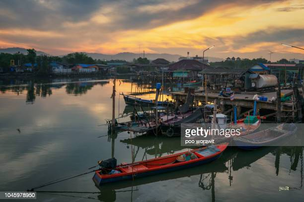 fishing village. - ghana stock pictures, royalty-free photos & images