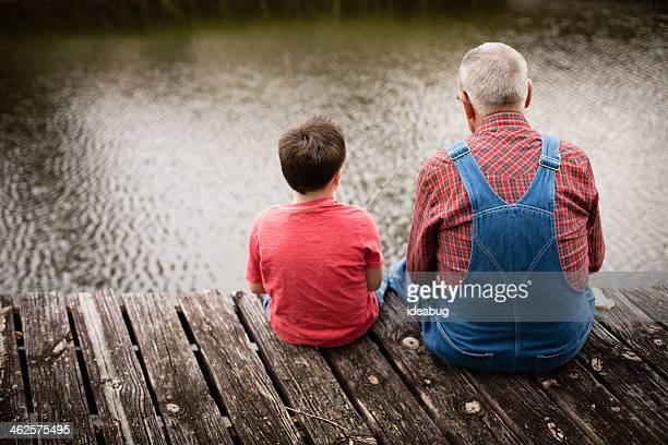 Pesca con Grandpa, Vista posterior
