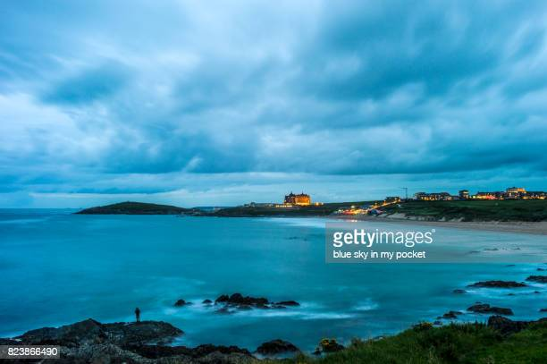 Fistral Beach is Newquay's iconic beach,