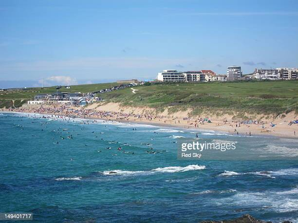 Fistral Beach, Newquay, Cornwall, UK