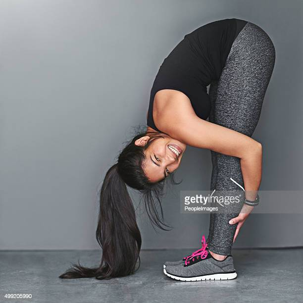 fit and flexible - bending over stock pictures, royalty-free photos & images
