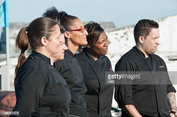 TOP CHEF Fit for a King Pictured Finalists Antonia Lofaso Richard Blais Carla Hall Tiffany Derry Mike Isabella