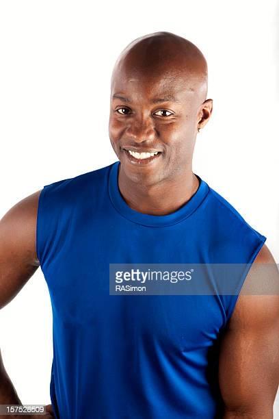 Fit Man Smiling