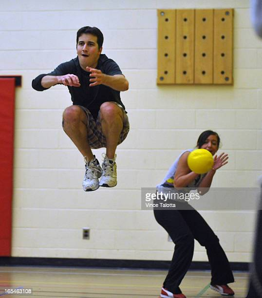 Fit to be Tried column is about the sport of dodgeball this time We need a photo of subject Dodgeball player Ryan Price in action His team is called...