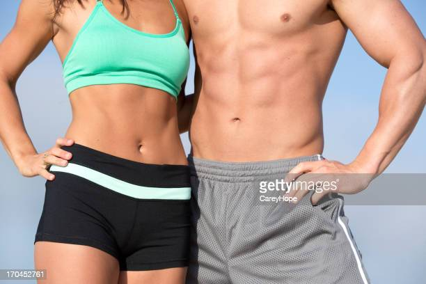 fit torso - male torso stock photos and pictures