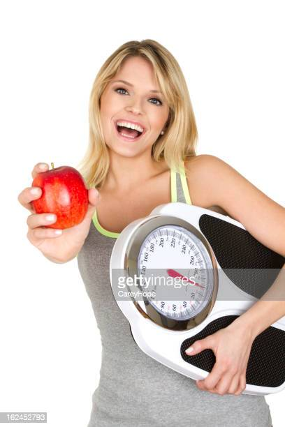 fit mujer con apple