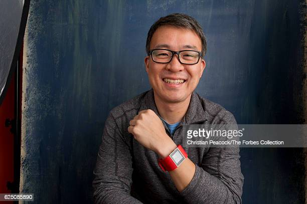 FitBit founder James Park is photographed for Forbes Magazine on December 15 2015 in San Francisco California CREDIT MUST READ Christian Peacock/The...