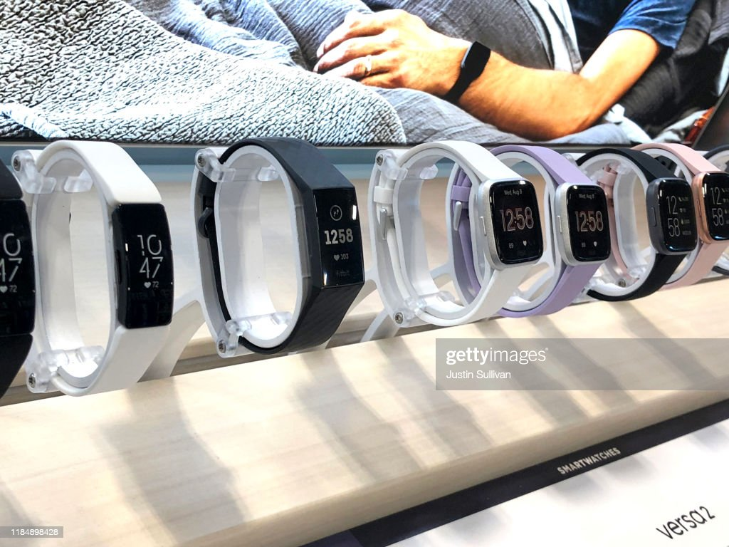 Google To Purchase Activity Tracking Device Maker Fitbit : News Photo