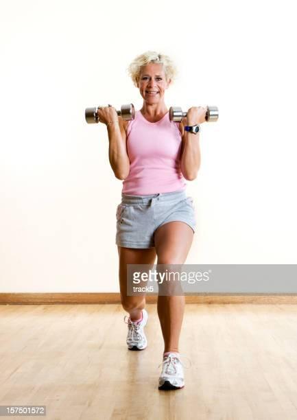 fitness: Aerobe Ausfallschritt
