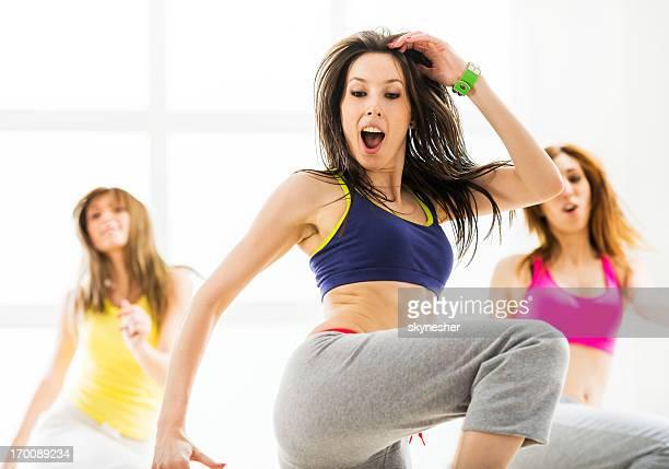Fitness aerobics.
