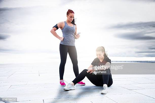 Fitness and exercising in the city