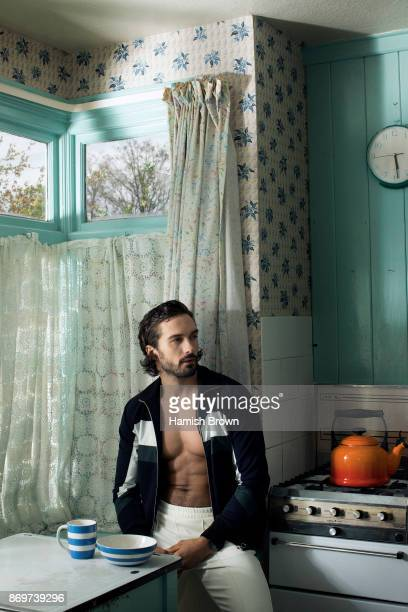 Fitness and health coach Joe Wicks is photographed for Men's Health magazine on April 10 2017 in London England