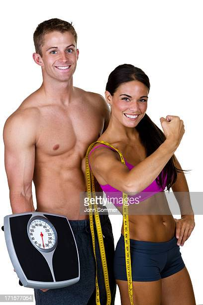 Fitness and weight loss concept