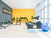 Fitness center or health club