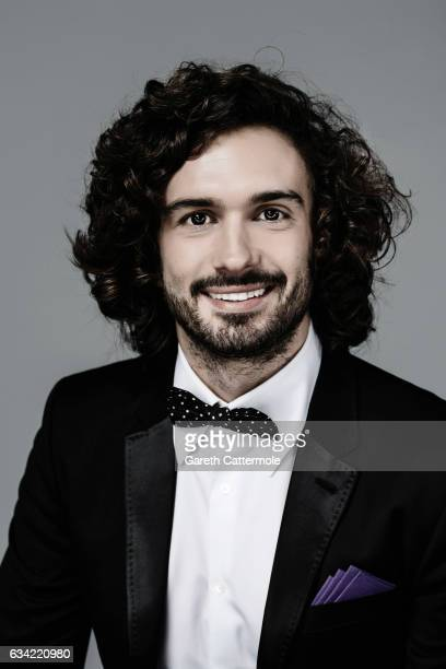 Fitness coach TV presenter and author Joe Wicks is photographed at the National Television Awards on January 25 2017 in London England