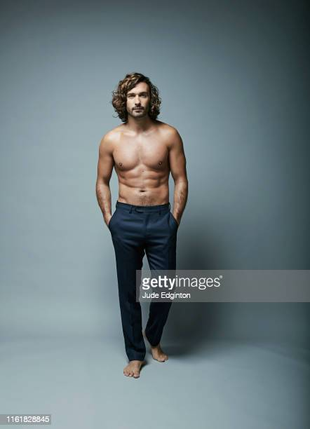 Fitness coach TV presenter and author Joe Wicks is photographed for the Daily Mail on May 9 2019 in London England