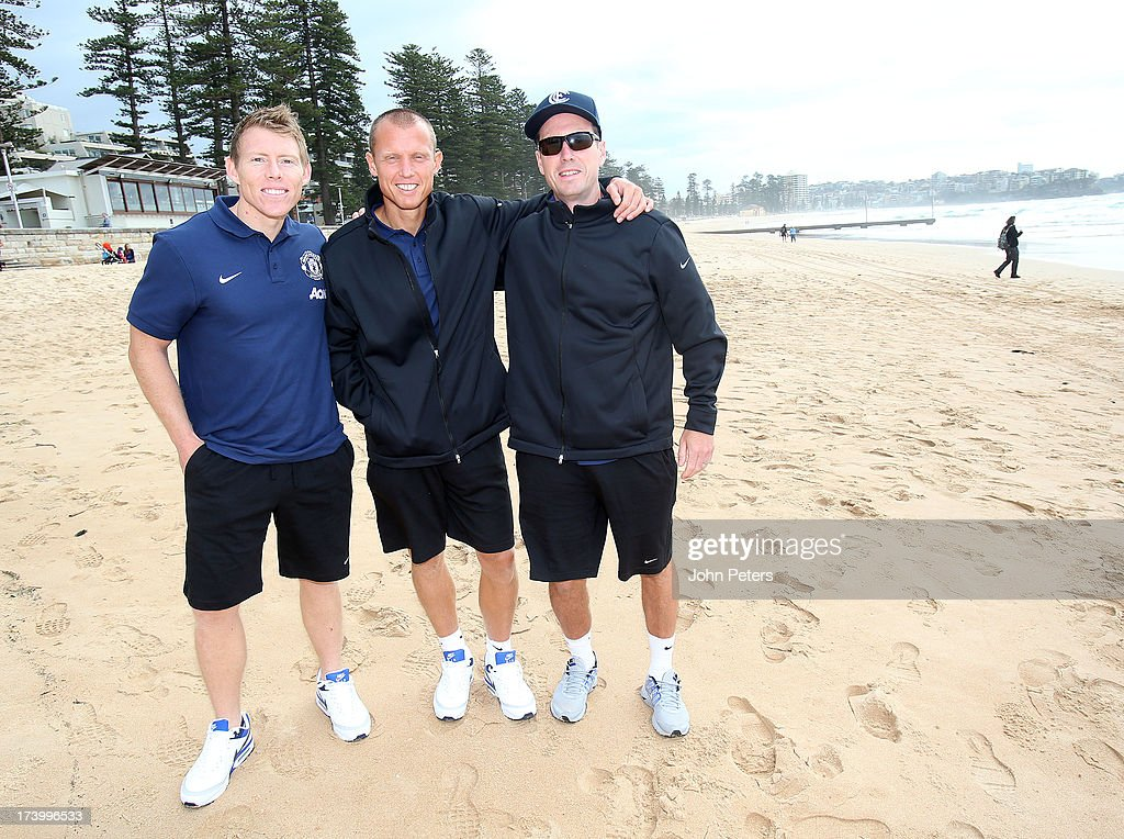 Manchester United Players Visit Manly Beach - Sydney