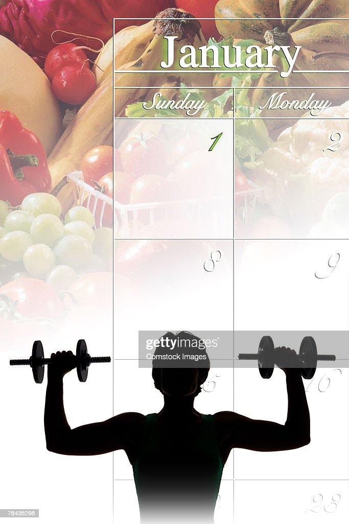 Fitness concept : Stockfoto