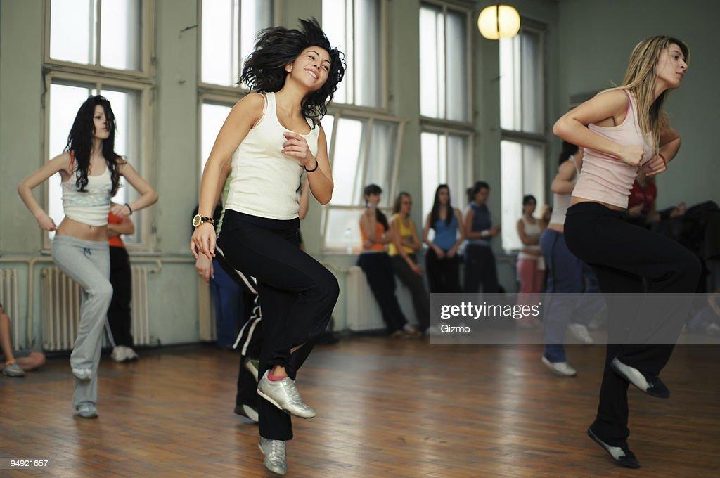 Fitness dance : Stock Photo