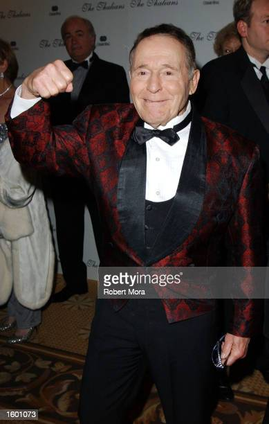 Fitness expert Jack LaLanne attends the 47th Annual Thalians Ball honoring actress Phyllis Diller at the Century Plaza Hotel on November 9 2002 in...