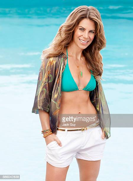 Fitness expert Jillian Michaels is photographed for Redbook Magazine in 2010 in Los Angeles, California. PUBLISHED IMAGE.