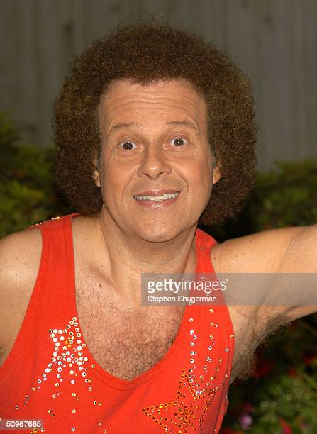 Fitness expert Richard Simmons poses at the Third Annual Nutrition Advisory Council Symposium sponsored by LAUSD Nutrition Network at California...