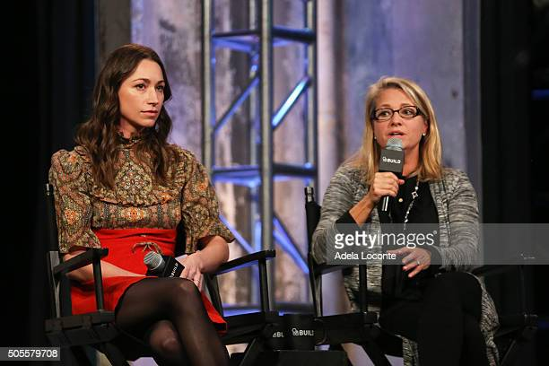 Fitness Expert Tara Stiles and AOL's Chief People Officer Terri Zandhuis discuss better eating habits and health as part of AOL Build Speaker Series...
