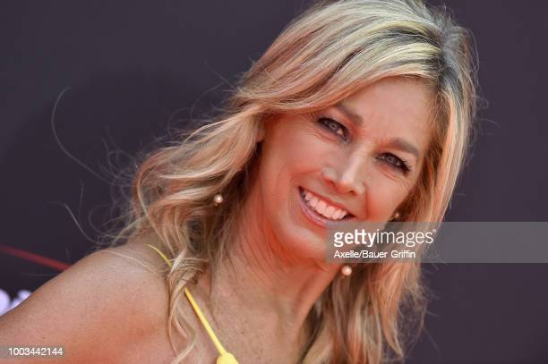 Fitness guru Denise Austin attends The 2018 ESPYS at Microsoft Theater on July 18 2018 in Los Angeles California