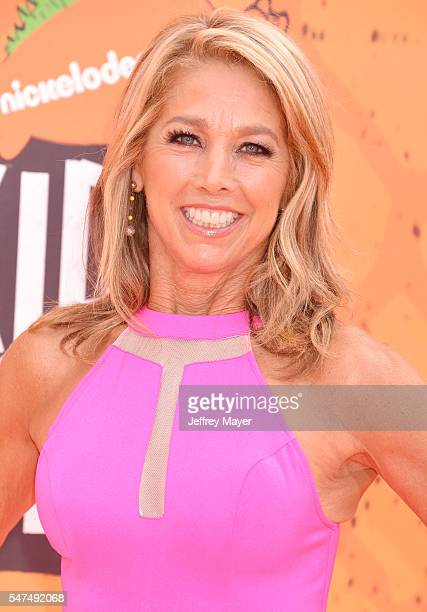 Fitness instructor Denise Austin arrives at Nickelodeon Kids' Choice Sports Awards 2016 at UCLA's Pauley Pavilion on July 14, 2016 in Westwood,...