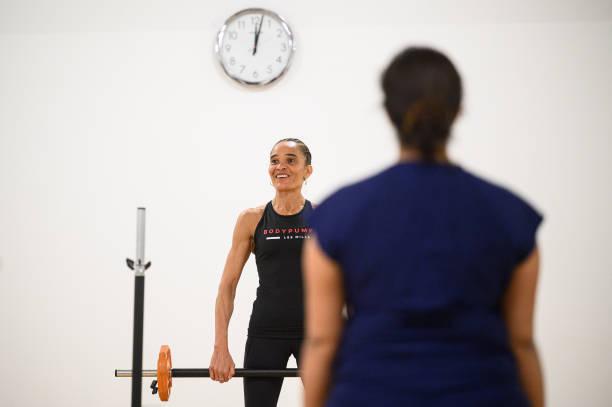 GBR: Midnight Fitness Class Heralds Easing Of England's Coronavirus Lockdown