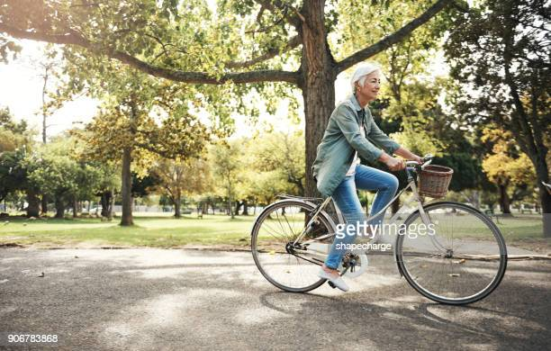 fitness is for life - bicycle stock pictures, royalty-free photos & images