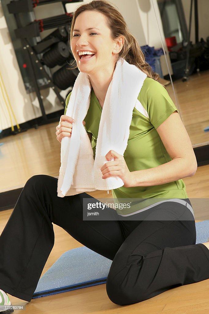 Fitness Laugh : Stock Photo